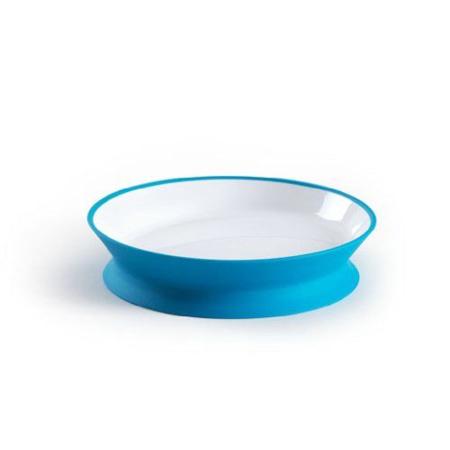 Assiette réversible Diabolo bleue HOPPOP 1
