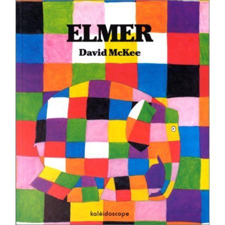 Livre Elmer KALEIDOSCOPE 1