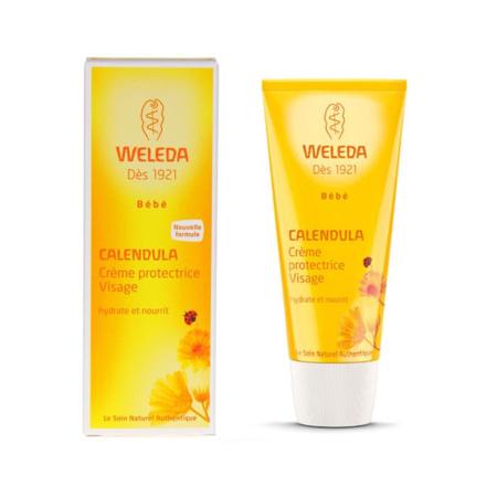Crème protectrice visage WELEDA 1