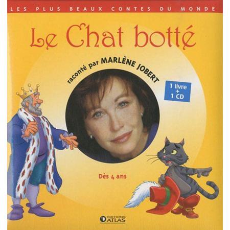 Le Chat botté  Jobert, Marlène, LIVRE + CD AUDIO ATLAS 1