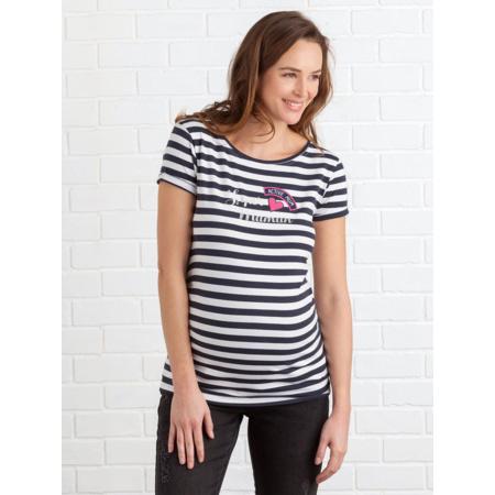 T-shirt mariniere de grossesse 1