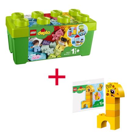 Duplo - La boîte  de briques et 1 sachet LEGO 1