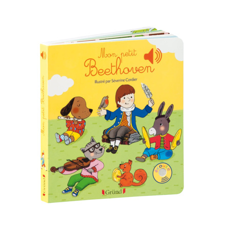 Livre Mon petit Beethoven GRUND 1