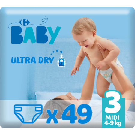 Couches Ultra Dry MY CARREFOUR BABY 4
