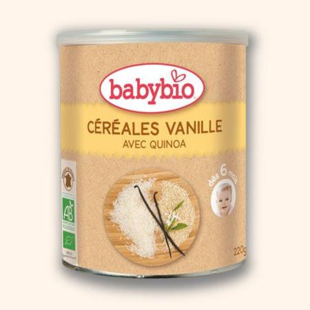 BIO Céréale Vanille 220 g dès 6 mois BABYBIO 1