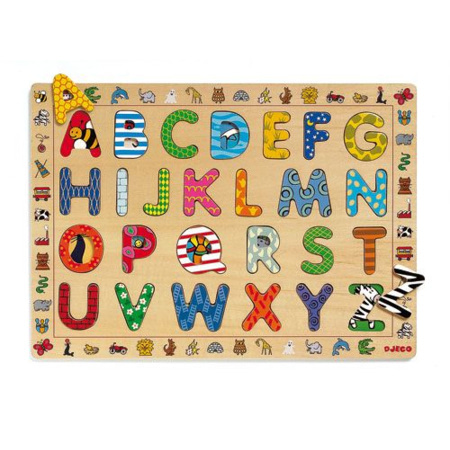Puzzle ABC DJECO 1