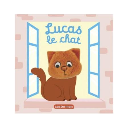 Livre marionnette Lucas, le chat CASTERMAN 1