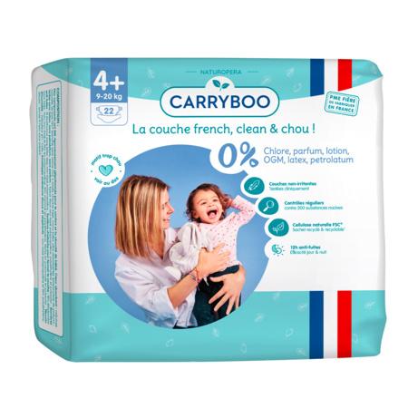 Couches écologiques dermo-sensitives CARRYBOO 8