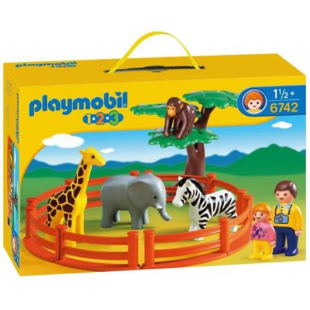 Playmobil 1.2.3 - Zoo PLAYMOBIL 1