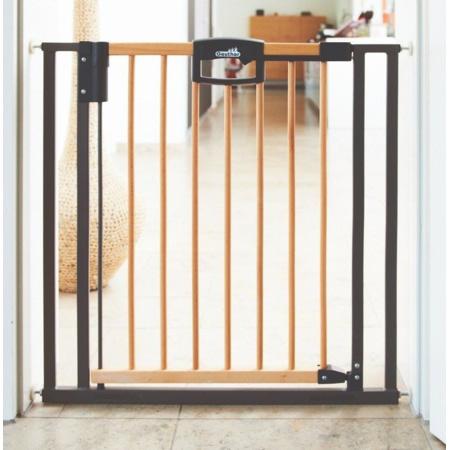 Barrière de sécurité Easylock Wood bois métal GEUTHER 1