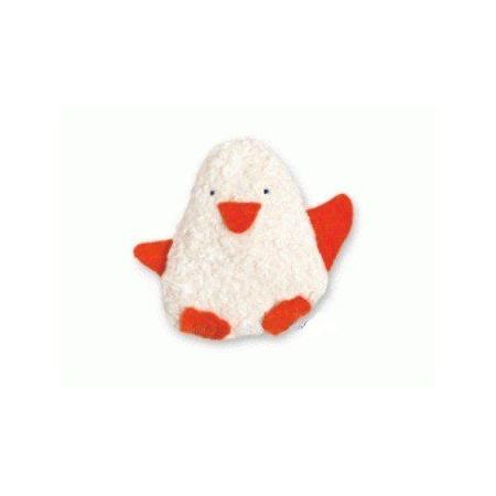 Doudou bébé Pingouin coton Bio 1
