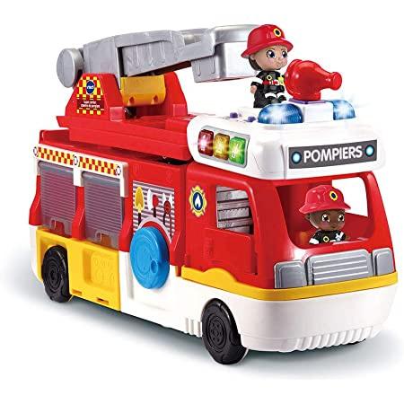 Tut Tut copains - Super camion caserne de pompiers VTECH 2