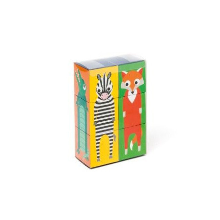 6 Cubes animaux 1