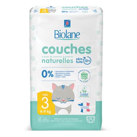 Couches Eco-responsables BIOLANE 3