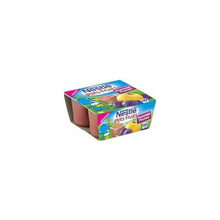 P'tits fruits - Pommes et prunes (Dès 4 mois 100g) NESTLÉ 1