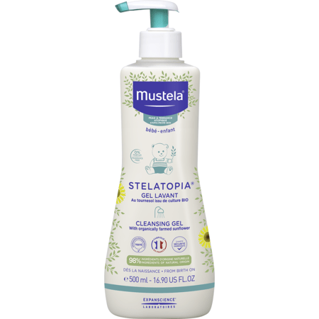 Gel lavante Stelastopia MUSTELA 1