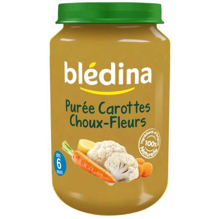 Pot Purée Carottes Choux-fleurs 2x200g BLEDINA 2