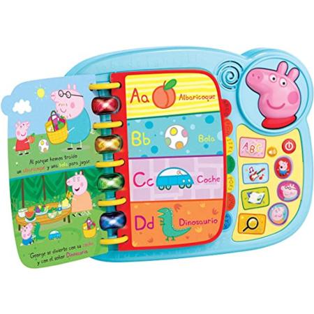 Livre Découvrez et découvrez avec Peppa Pig VTECH 2