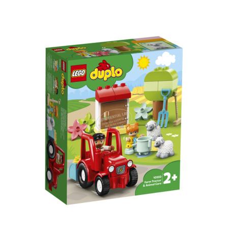 Duplo - Ma ville - Le tracteur et les animaux LEGO 1