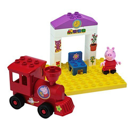 La station de train de Peppa Pig SMOBY 1