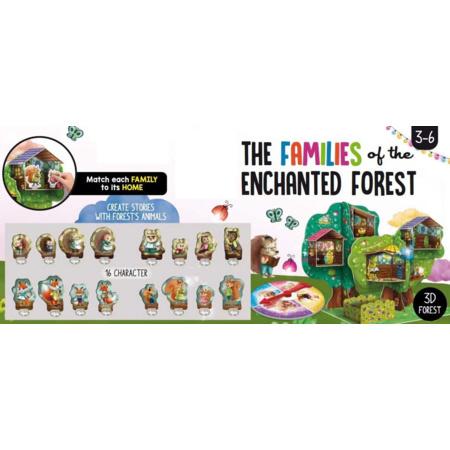 Montessori - Les Familles de la Forêt Enchantée LISCIANI 2