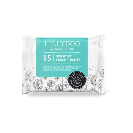 Lingettes peaux sensibles LILLYDOO 1