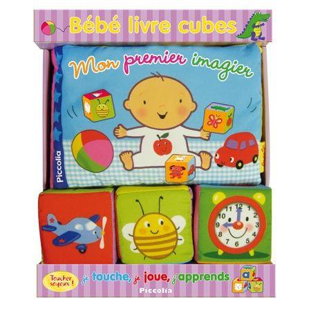 Bébé Livre Cubes - Mon premier imagier EDITIONS PICCOLIA 1