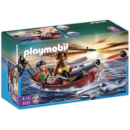 Barque des pirates avec requin-marteau PLAYMOBIL 1