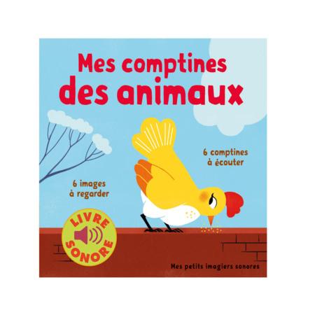 Livre Mes comptines des animaux GALLIMARD JEUNESSE 1