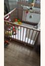 avis Parc bébé Belami Naturel 102x102 cm par Camille