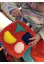 avis Livre tissu d'activités sensorielles Sensibul par Margot