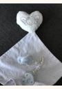 avis Set Doudou + Sucette + Attache-sucette Collection White par Patricia