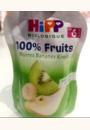 avis Poires Kiwiw Bananes 100% fruits - 4 coupelles x 100g - 8 mois par Nouné