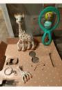 """avis Coffret cadeau """"Il était une fois …"""" Sophie la girafe par Oriane"""
