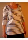 avis T-shirt mariniere de grossesse par Daniella
