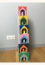 avis Cubes imagiers empilables et animaux en bois - Manibul par Julie