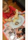 avis Assiette et set de table Mini Mat par Alexandra