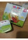 avis Pommes Bananes Fruits rouges 100% fruits - 4 coupelles x 100g - 6 mois par Laura