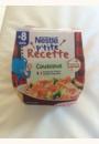 avis NESTLE - Ma recette - Petit pot couscous 8 mois par Delphine