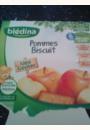avis BLEDI FRUIT Biscuite pomme 4x100 g dès 6 mois par Vanessa