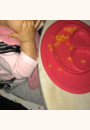 avis Assiette et set de table Mini Mat par Julia