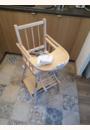 avis Chaise haute transformable vernie par Mathilde