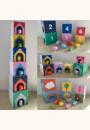 avis Cubes imagiers empilables et animaux en bois - Manibul par Pauline