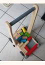 avis Chariot de marche en bois avec cubes par MARION