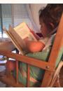 avis Chaise haute transformable vernie par Anne