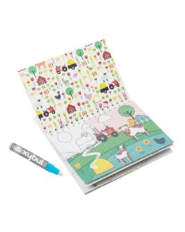 Cahier de coloriage magique à l'eau