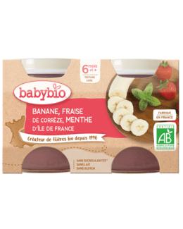 Banane Fraise de Corrèze Menthe d'Île de France