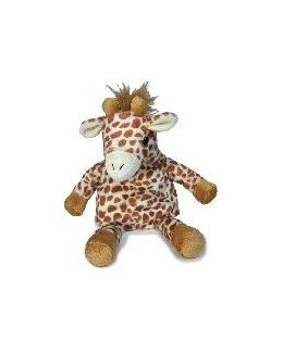 Peluche bouillote girafe avec poche de gel chaud froid