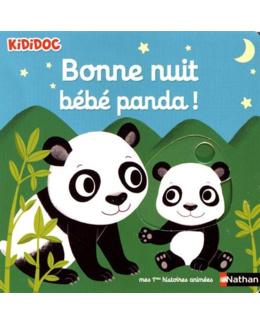 Livre Bonne nuit bébé Panda ! - Kididoc