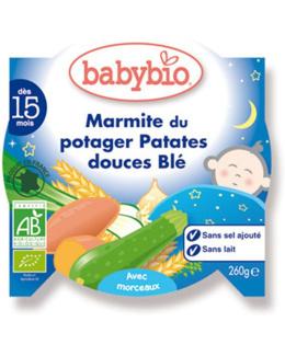 Bonne nuit marmite du potager patates douce / blé